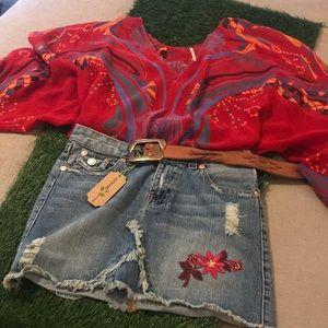 Custom, designer skirt